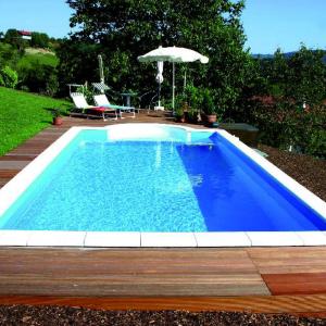 Bouwkundig zwembad maken for Inbouw zwembad rechthoek
