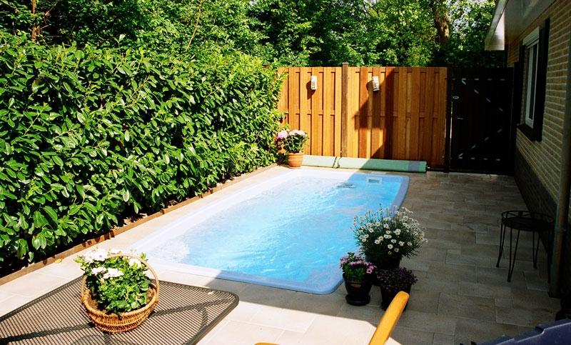 Zwembad polyfaser model ischia 70 for Klein zwembad