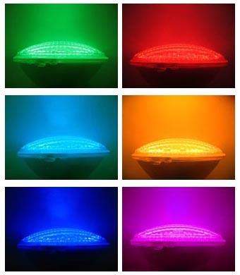 zwembad led verlichting kleur 12 volt 151 watt 2268 lux inclusief luxe kwaliteit inbouwarmatuur 052114b 252rgb