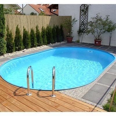 Zwembad set ovaal inbouw maatvoering ovaal 3 20 x 6 00 x for Opzet zwembad rechthoek